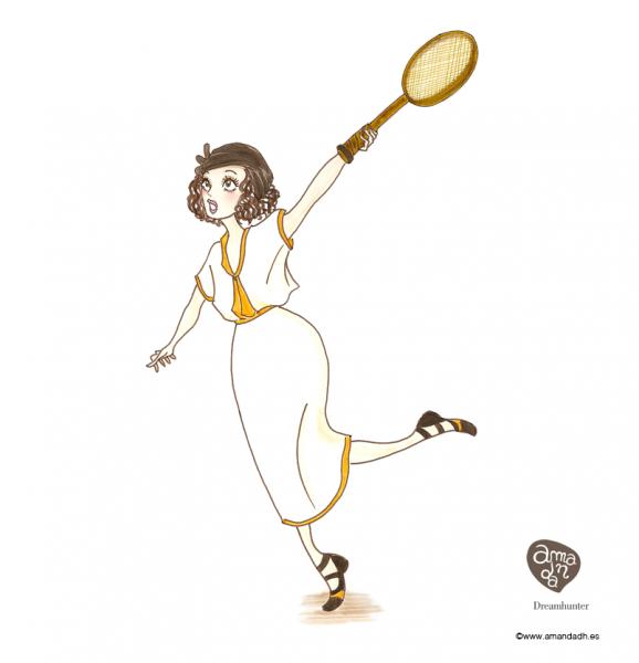 Amanda Olimpiadas Tenis