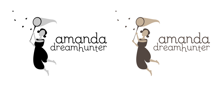 Amanda cazadora mariposas