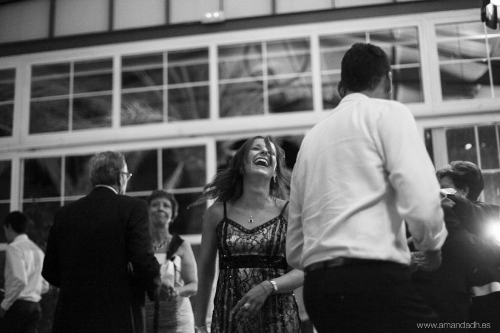 risas en boda