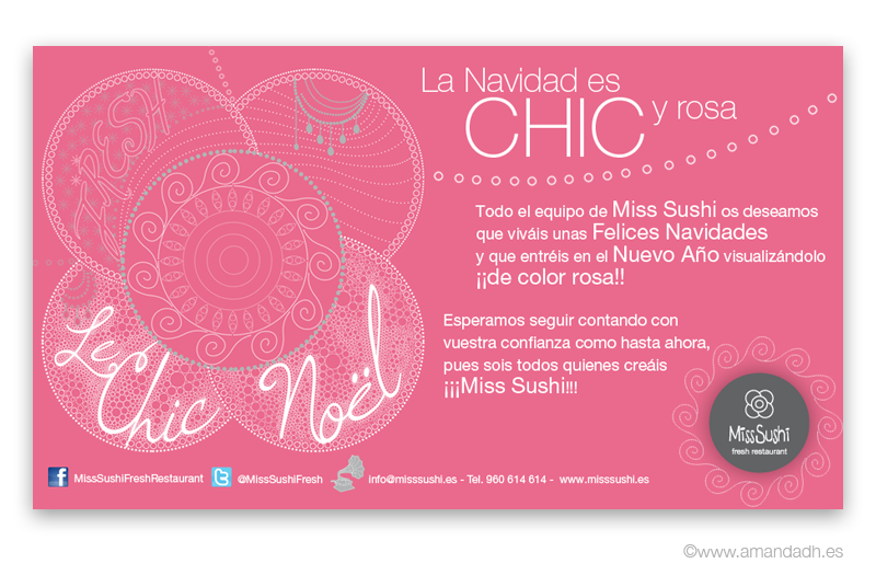 Miss-Sushi Le Chic Noel