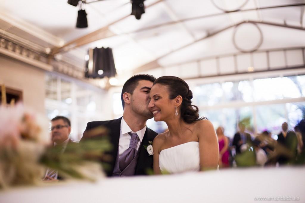 beso novia
