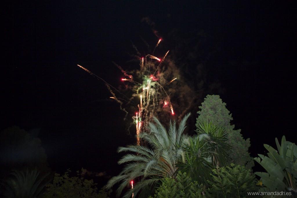 fuegos artificiales boda