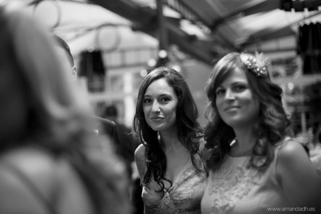 chica guapa en boda