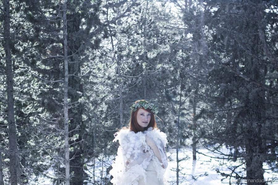 boda en la nieve