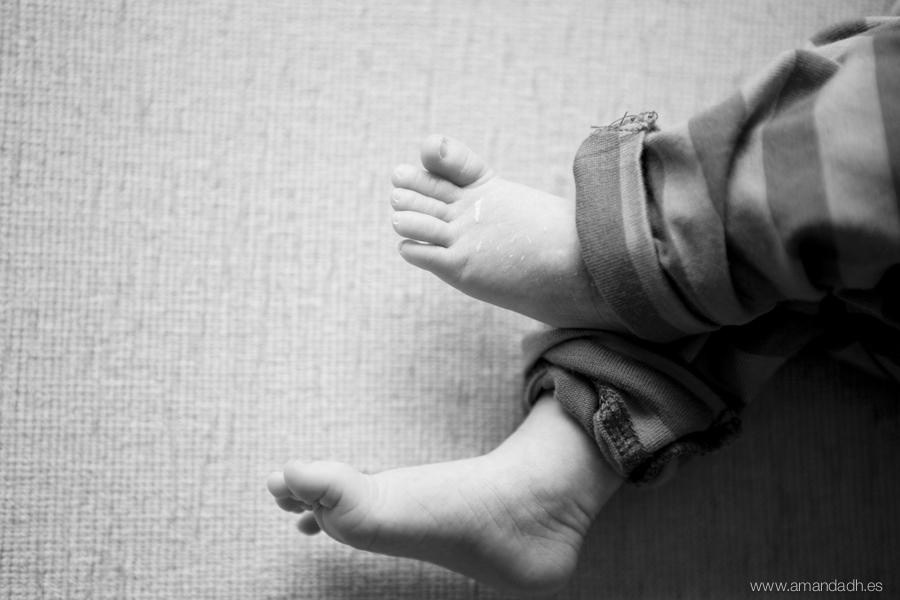 fotografia pies de bebe
