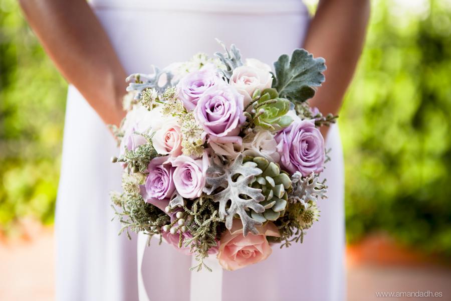 ramo novia la rosa blanca