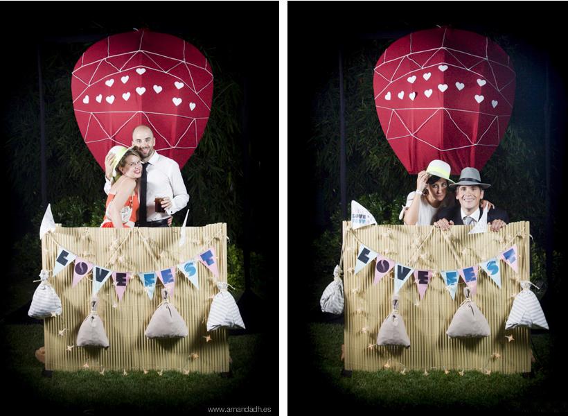 photocall diferente bodas
