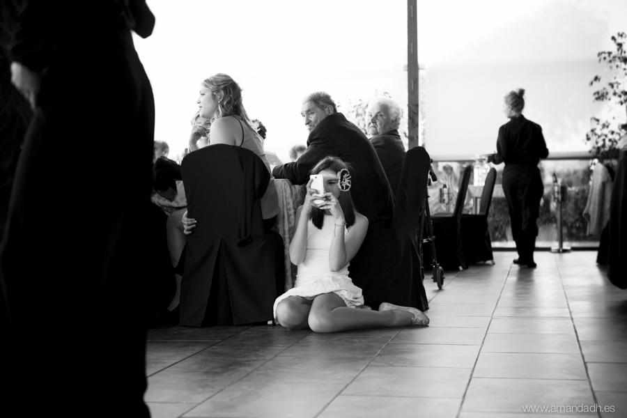 niña fotografa