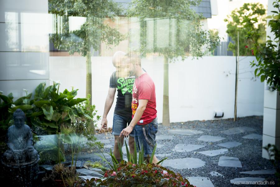 preboda en jardin