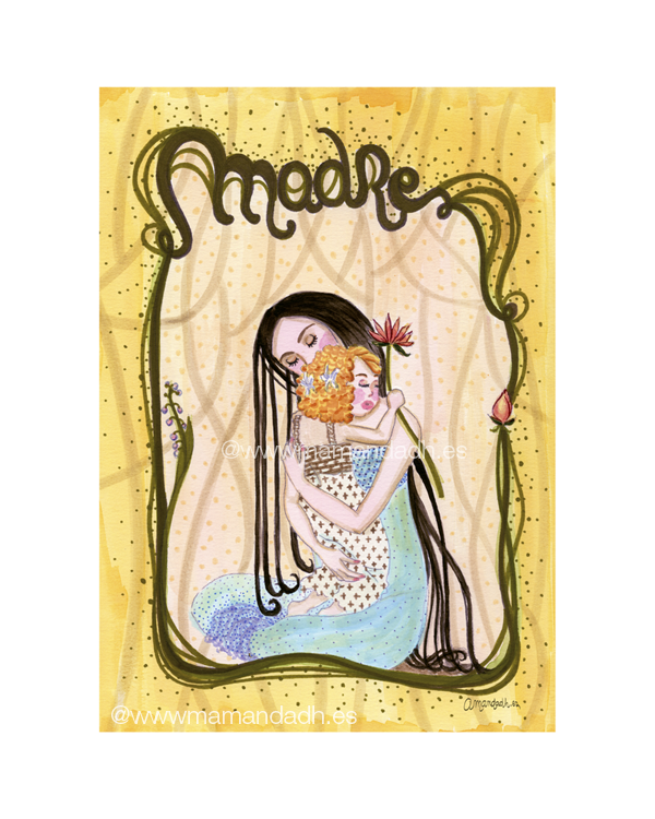 Madre AmandaDh-ilustracion