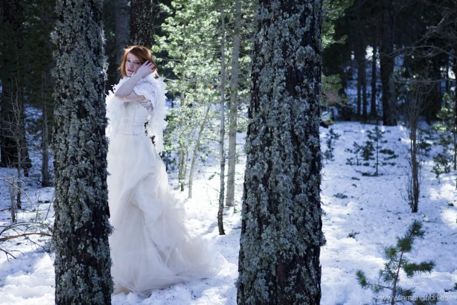 novia bosque