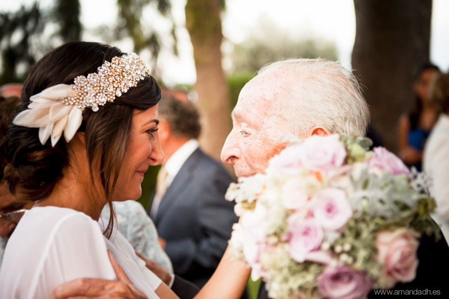 cariño en boda