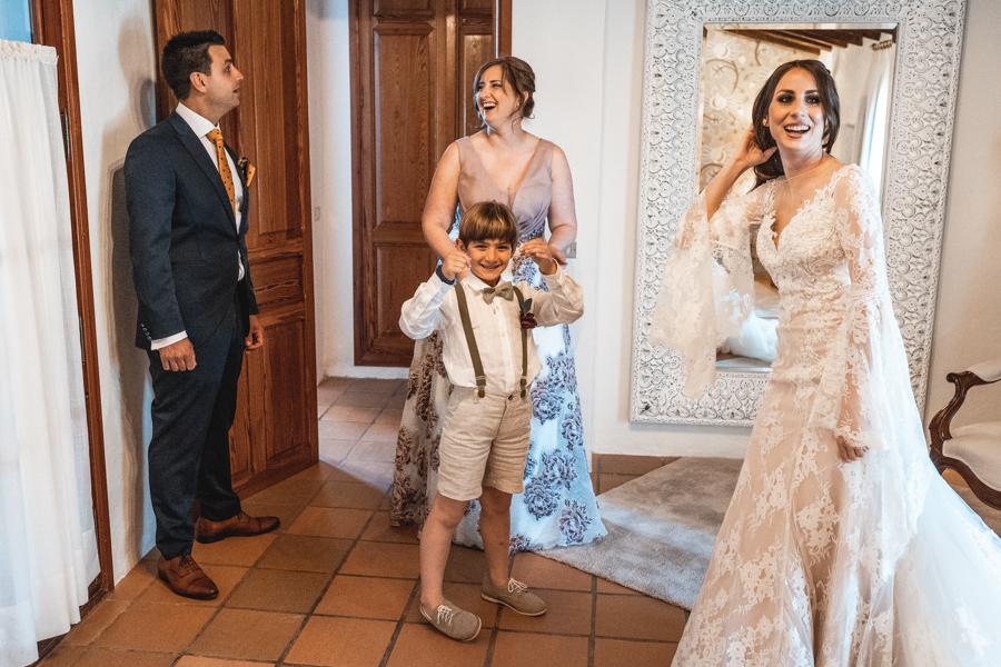 previos boda