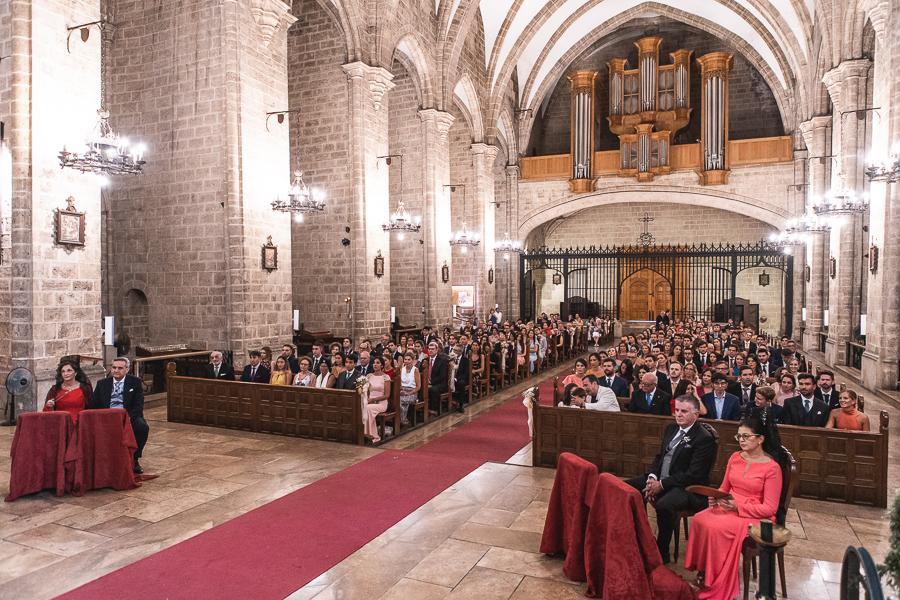 invitados iglesia boda