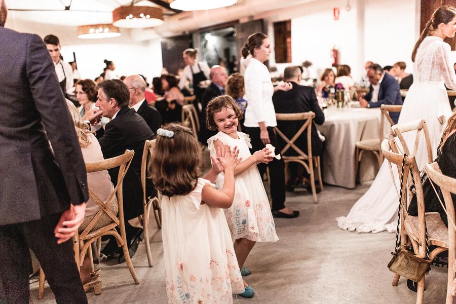 niñas boda